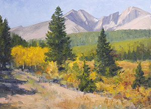 """Mt Meeker and Long's Peak"" by Dan D'Amico"